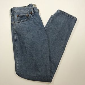 Levi's 550 Relaxed Fit Blue Jeans, Size 34/34